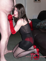 Kirsty gets her TGirl ass and mouth tossed around and used at a filthy fuck party