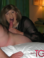 Horny cock sucking and fucking with Kirsty and her Tgirl friends